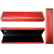 bracelet box images Bracelet box leather red black jewel quest marketing png