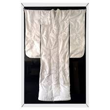 art deco japanese formal black kurotomesode kimono dress in silk
