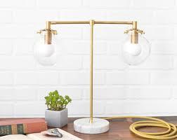 Desk Lights Modern Desk Lamp Etsy