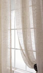 Light Linen Curtains Sheer Linen Curtains I Would Love Something Like This In My