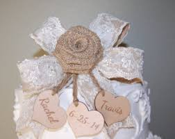 burlap cake toppers happy birthday cake topper burlap lace bunting flags banner