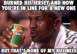 Best Memes 2014 - nba memes on twitter michael jordan s thoughts on the cleveland