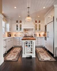 kitchen carpeting ideas and cons of a carpet in the kitchen