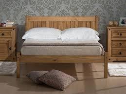 Santos Antique Pine Bed Frame Wooden Bed Frames Oak And Pine Beds At Mattressman