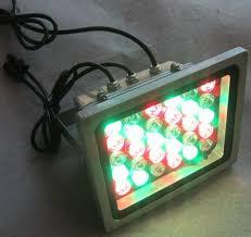 programmable led flood lights 18w 30w 48w led rgb floodlight ip65 dmx rgb controlled outdoor