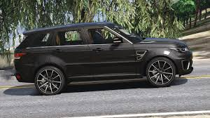 range rover sport custom wheels range rover sport replace lods gta5 mods com