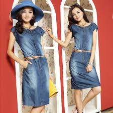 2014 new summer vintage european women fashion ol casual denim