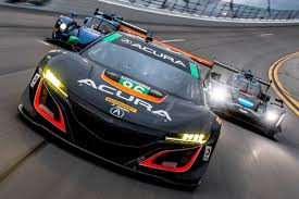 video roar before the 24 lap in the acura nsx gt3turnology