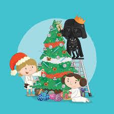 wars christmas wars christmas cards darth vader princess leia luke