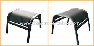 wholesale patio furniture sling steel outdoor ottoman buy discount