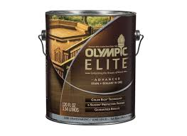 olympic elite advanced stain sealant in one semi transparent