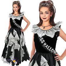 Prom Queen Halloween Costumes Girls Zombie Costume Ebay