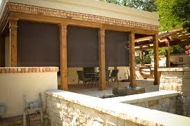 Solar Shades For Patio Doors by Sedona Window Treatments Motorized Solar And Outdoor Shades