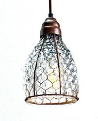 wire pendant light fixtures wire pendant lighting industrial wire cage pendant lights