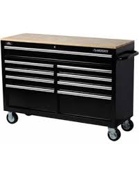 big deal on husky 52 in tool chest box 9 drawer rolling toolbox