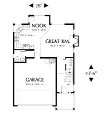 craftsman style house plan 3 beds 2 5 baths 1466 sq ft plan 48