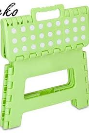 acko 11 inches non slip folding step stool for kids and adults