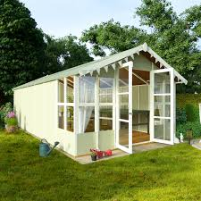 billyoh 20 x 10 lucia tongue and groove garden summerhouse 4000