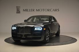 matte rolls royce ghost 2017 rolls royce ghost black badge stock ux54262 for sale near