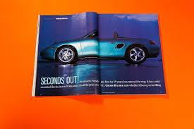 Porsche Boxster Model Car - seconds out when we first drove the porsche boxster car