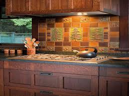 Kitchen Self Design Stunning Arts And Crafts Tile Backsplash Photos Home Design
