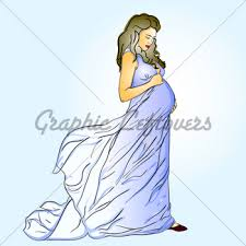 silhouette of pregnant woman and man gl stock images
