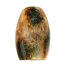 brown pendant light shop portfolio harth hill 7 25 in h 4 75 in w stone crackle