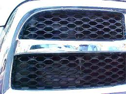 2010 dodge ram 1500 black grill air hawk stainless steel inserts summer grille winter front