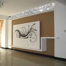 Mirror Wall Decals And Wall by Continental Wall Stickers Diy Home Decoration Ceiling Diagonal