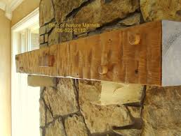 cool adding a mantel to a stone fireplace remodel interior
