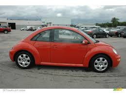 orange volkswagen beetle sundown orange 2003 volkswagen new beetle gls coupe exterior photo