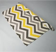 yellow and gray chevron rug roselawnlutheran