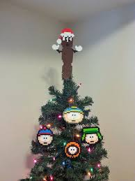 south park mr hanky the poo perler bead