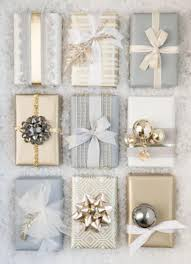 metallic gift wrap 10 gift wrapping ideas style at home