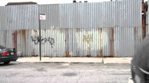 red hook corrugated metal fence youtube