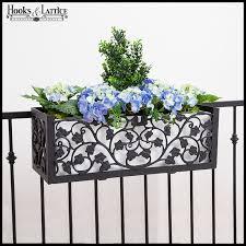 Flower Pot Holders For Fence - aluminum window boxes aluminum flower boxes aluminum window box