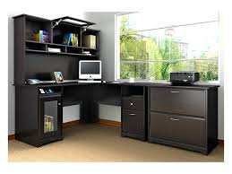Computer Desk And Hutch Desk Chic Bush Cabot L Shaped Computer Desk Hutch And Lateral