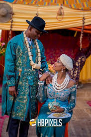 traditional wedding attire real weddings beverly tammy s traditional wedding in opobo