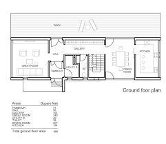 floor one floor modern house plans