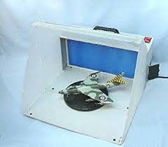 spray booth extractor fan portable spray booth with extractor fan amazon co uk toys games