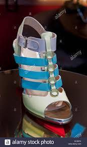 christian louboutin paris french footwear designer shiny red stock