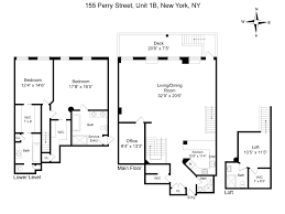 8 york street floor plans 155 perry street apt 1b new york ny 10014 sotheby u0027s