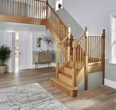 traditional oak staircase neville johnson