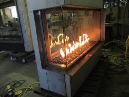 acucraft custom gas 3 sided see through fireplace u0026 custom gas 4