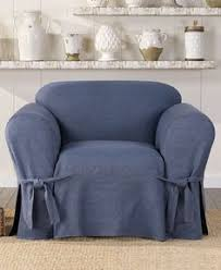 Sure Fit Slipcovers Review Reclining Sofa Slipcover Blue Texture Adapted For Dual Recliner