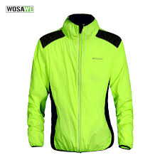 yellow waterproof cycling jacket online get cheap womens green rain jacket aliexpress com