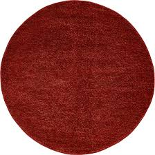 Large Red Area Rug Contemporary Area Rug Solid Plain Soft Large Warm Carpet Modern