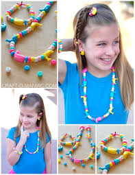 joann u0027s summer of kids craft beaded jewelry craft o maniac