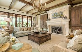 flooring amazing iron fireplace screens with wood beams and