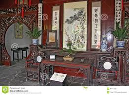 traditional chinese room interior suzhou stock image image